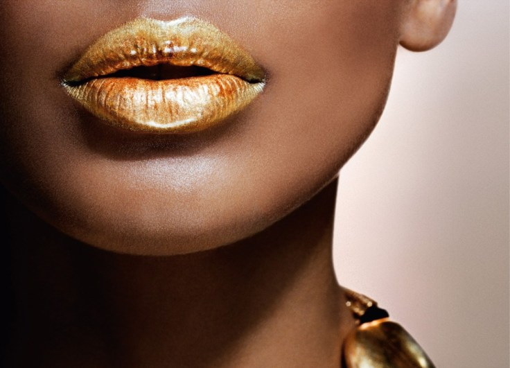 metallic-lips