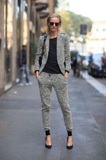 blazer-with-track-pants